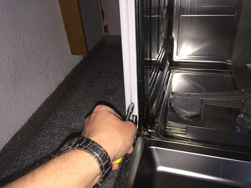 Aeg Kühlschrank Tür Einstellen : Siemens spülmaschine türfeder einstellen: geschirrspüler siemens